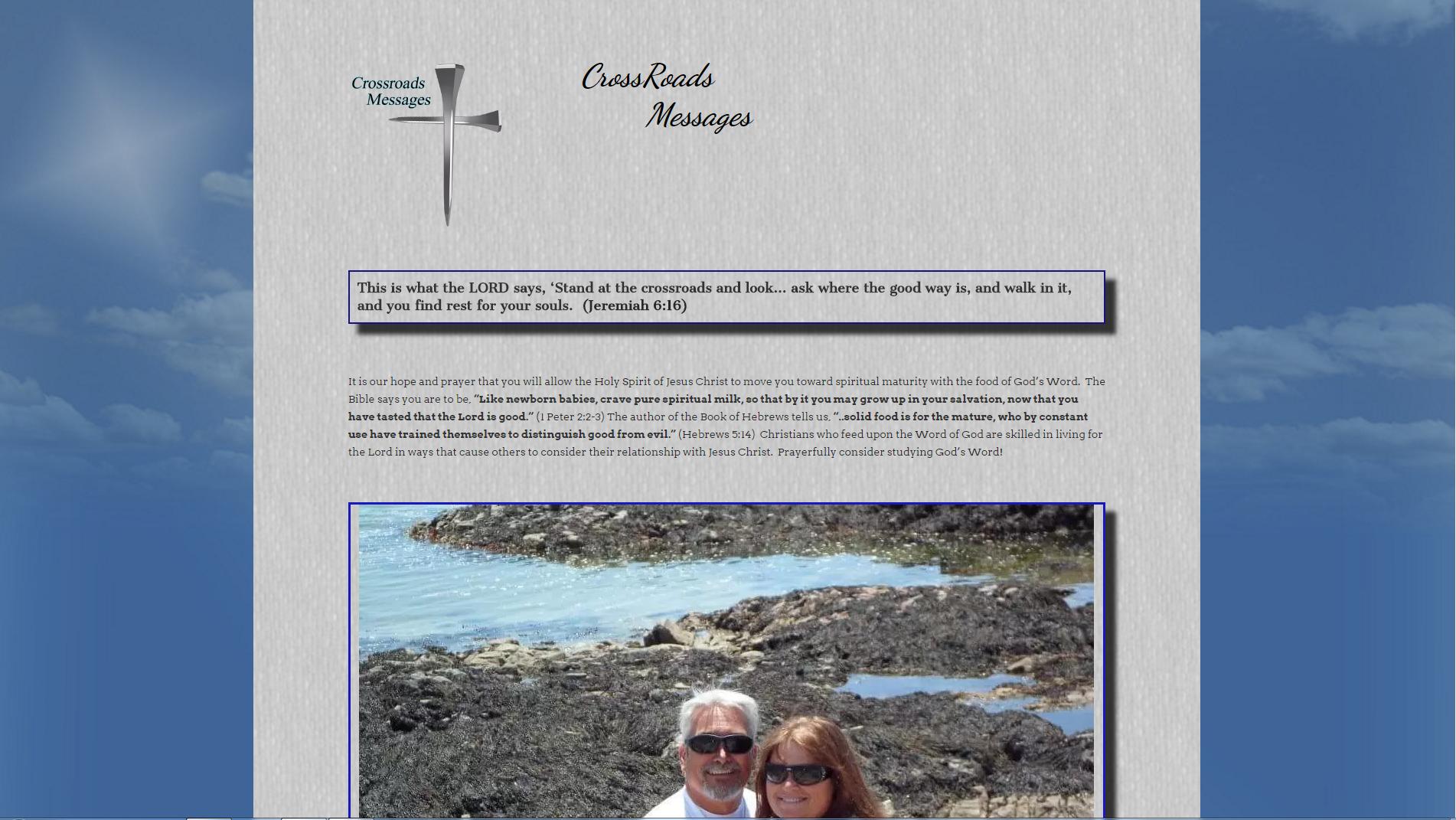 Crossroads Website