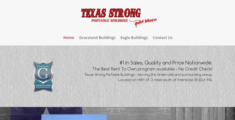 TX Strong Website