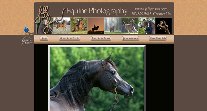 Jeff Janson Photography website